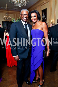 Art and Sela Collins. Photo by Tony Powell. 2012 Meridian Ball. October 12, 2012
