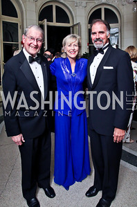 William and Lynda Webster, LOST actor Jeff Fahey. Photo by Tony Powell. 2012 Meridian Ball. October 12, 2012