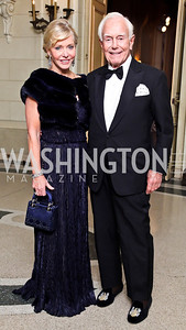 Mary and Mandy Ourisman. Photo by Tony Powell. 2012 Meridian Ball. October 12, 2012