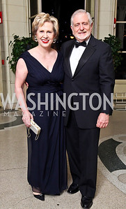 Lisa Barry, Jim Gale. Photo by Tony Powell. 2012 Meridian Ball. October 12, 2012