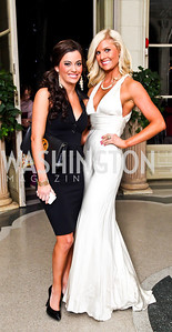 Michelle Brandon, Lindsay Mead. Photo by Tony Powell. 2012 Meridian Ball. October 12, 2012