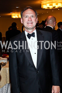 Justice Samuel Alito. Photo by Tony Powell. 2012 NIAF Gala Awards Dinner. Hilton Hotel. October 13, 2012