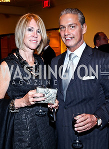 Laura and David Claire. Photo by Tony Powell. 2012 NIAF Gala Awards Dinner. Hilton Hotel. October 13, 2012