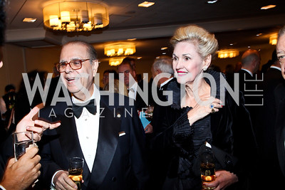 Amb. Francesco Paolo Fulci and Claris Fulci. Photo by Tony Powell. 2012 NIAF Gala Awards Dinner. Hilton Hotel. October 13, 2012