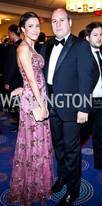 Valentina Agostini, Matteo Dolci. Photo by Tony Powell. 2012 NIAF Gala Awards Dinner. Hilton Hotel. October 13, 2012