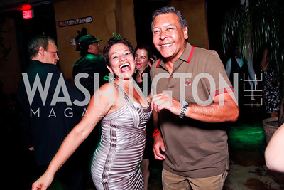 Ana Maria Ramos, Felix Sanchez. 2012 Noche de Gala After Party. Photo by Tony Powell. Cuba Libre. Mayflower Hotel. September 11, 2012
