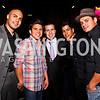 Luis Arellano, Henry Cejudo, Felix Ortiz III, Jeremy Valdez, Jesse Garcia. 2012 Noche de Gala After Party. Photo by Tony Powell. Cuba Libre. Mayflower Hotel. September 11, 2012