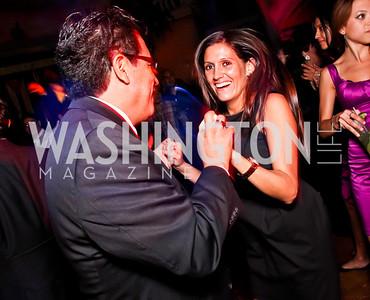 Mark Magana, Sara Valenzuela. 2012 Noche de Gala After Party. Photo by Tony Powell. Cuba Libre. Mayflower Hotel. September 11, 2012