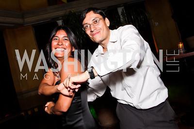 Laura Marquez, Luis Miranda. 2012 Noche de Gala After Party. Photo by Tony Powell. Cuba Libre. Mayflower Hotel. September 11, 2012