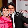 National Farmworkers Association Co-founder Dolores Huerta, Esai Morales. 2012 Noche de Gala After Party. Photo by Tony Powell. Cuba Libre. Mayflower Hotel. September 11, 2012
