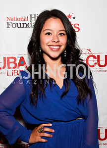Actress Cierra Ramirez. 2012 Noche de Gala After Party. Photo by Tony Powell. Cuba Libre. Mayflower Hotel. September 11, 2012