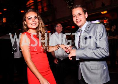 Mariana Ortiz, Fabain Jaime. 2012 Noche de Gala After Party. Photo by Tony Powell. Cuba Libre. Mayflower Hotel. September 11, 2012