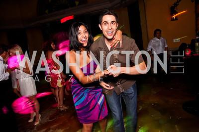 Patricia Leonguerrero, Daniel Reyes. 2012 Noche de Gala After Party. Photo by Tony Powell. Cuba Libre. Mayflower Hotel. September 11, 2012