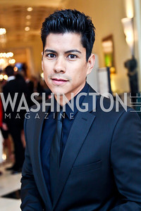 Actor Jeremy Ray Valdez. 2012 Noche de Gala. Photo by Tony Powell. Mayflower Hotel. September 11, 2012