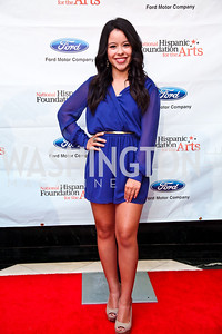 Actress Cierra Ramirez. 2012 Noche de Gala. Photo by Tony Powell. Mayflower Hotel. September 11, 2012