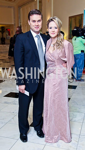 Fernando and Maria Bickford. 2012 Noche de Gala. Photo by Tony Powell. Mayflower Hotel. September 11, 2012