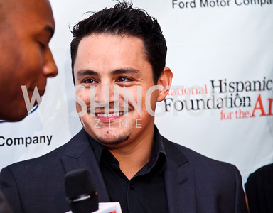 Actor Jesse Garcia. 2012 Noche de Gala. Photo by Tony Powell. Mayflower Hotel. September 11, 2012