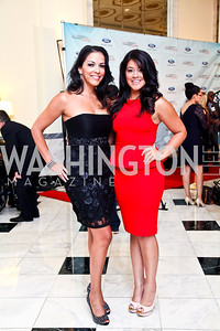 Norma Vega, Gina Rodriguez. 2012 Noche de Gala. Photo by Tony Powell. Mayflower Hotel. September 11, 2012