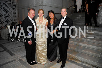 Curt Winsor,Kristin Olson,Debbie Winsor,Nels Olson,June 2,2012,Opera Ball at The Embassy  of The United Arab Emirates,Kyle Samperton