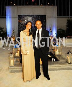 Abeer Al Otaiba,Amb.Yousef Al Otaiba,June 2,2012,Opera Ball at The Embassy  of The United Arab Emirates,Kyle Samperton