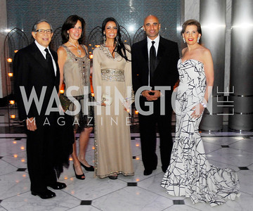 Ron Dozoretz,Beth Dozoretz,Abeer Al Otaiba,Amb.Yousef Al Otaiba,,Adriene ArshtJune 2,2012,Opera Ball at The Embassy  of The United Arab Emirates,Kyle Samperton