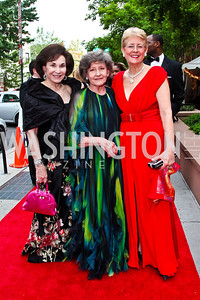 Alma Gildenhorn, Clarice Smith, Nancy Zirkin. 2012 Phillips Collection Gala. Photo by Tony Powell. May 4, 2012