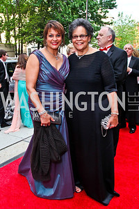 Debbi Jarvis, Charlene Drew Jarvis. 2012 Phillips Collection Gala. Photo by Tony Powell. May 4, 2012