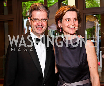 France Amb. François Delattre and Sophie L'Hélias-Delattre. 2012 Phillips Collection Gala. Photo by Tony Powell. May 4, 2012