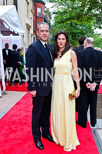 Mexico Amb. Arturo Sarukhan and Veronica Valencia. 2012 Phillips Collection Gala. Photo by Tony Powell. May 4, 2012