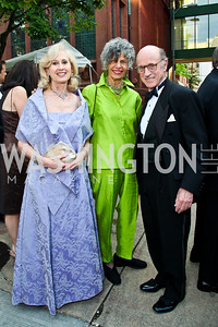 Willee Lewis, Susan Stamberg, Finlay Lewis. S2012 Phillips Collection Gala. Photo by Tony Powell. May 4, 2012