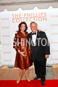 Suellen and Melvyn Estrin. 2012 Phillips Collection Gala. Photo by Tony Powell. May 4, 2012