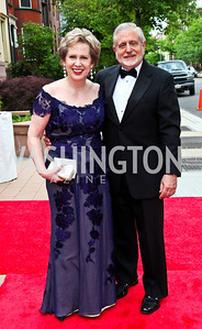 Lisa Barry and Jim Gale. 2012 Phillips Collection Gala. Photo by Tony Powell. May 4, 2012