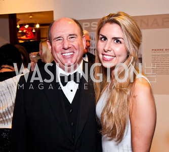 Wayne and daughter Alice Berman. 2012 Phillips Collection Gala. Photo by Tony Powell. May 4, 2012
