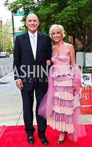 Jim Valentine and Kathy Kemper. 2012 Phillips Collection Gala. Photo by Tony Powell. May 4, 2012