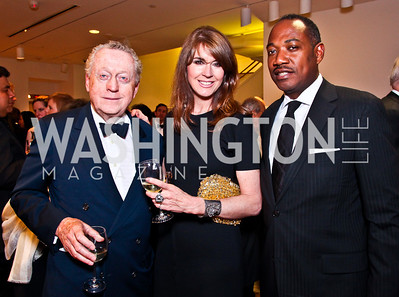 Tom Quinn, Lynly Boor, Yelberton Watkins. 2012 Phillips Collection Gala. Photo by Tony Powell. May 4, 2012