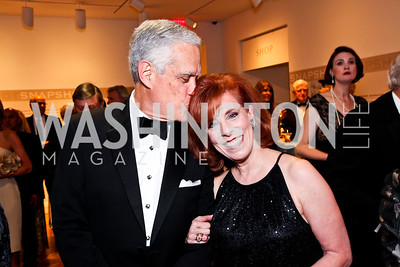 Chuck Miller and Patricia Sagon. 2012 Phillips Collection Gala. Photo by Tony Powell. May 4, 2012