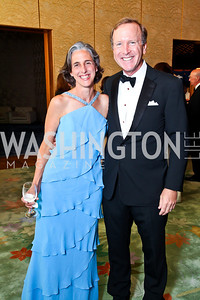 Jill Lum, Neil Bush. 2012 Points of Light Tribute Awards. Photo by Tony Powell. The Residence of the Ambassador of Japan. September 7, 2012