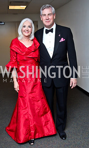 "Terry and John Castellani. Photo by Tony Powell. 2012 Susan G. Komen ""Honoring the Promise"" Gala. Kennedy Center. September 28, 2012"