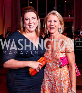 "Cindy Fornelli, Elizabeth Baker Keffer. Photo by Tony Powell. 2012 Susan G. Komen ""Honoring the Promise"" Gala. Kennedy Center. September 28, 2012"