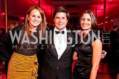 "Ellie LeBlond, John Pearson, Jayne Balzano. Photo by Tony Powell. 2012 Susan G. Komen ""Honoring the Promise"" Gala. Kennedy Center. September 28, 2012"