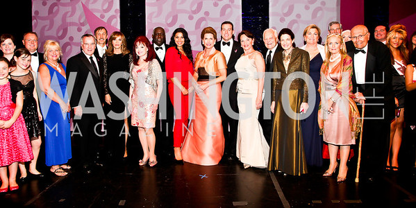 "Photo by Tony Powell. 2012 Susan G. Komen ""Honoring the Promise"" Gala. Kennedy Center. September 28, 2012"