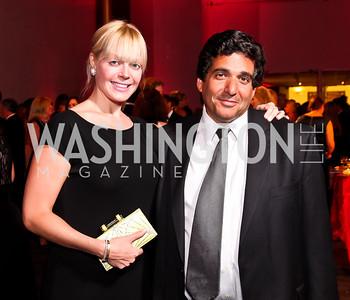 "Cid Szegedy, Seth Bloom. Photo by Tony Powell. 2012 Susan G. Komen ""Honoring the Promise"" Gala. Kennedy Center. September 28, 2012"