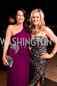 "Heather Guay, Colleen Leineweber. Photo by Tony Powell. 2012 Susan G. Komen ""Honoring the Promise"" Gala. Kennedy Center. September 28, 2012"