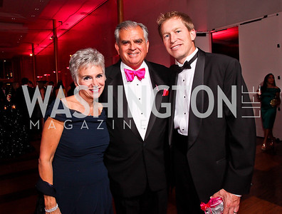 "Kathy LaHood and Sec. Ray LaHood, Kevin Gebke. Photo by Tony Powell. 2012 Susan G. Komen ""Honoring the Promise"" Gala. Kennedy Center. September 28, 2012"