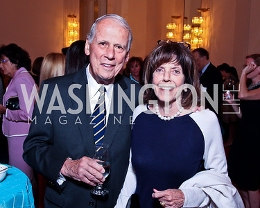 Walter and DeDe Cutler. 2012 Vital Voices Global Leadership Awards. Photo by Tony Powell. Kennedy Center. June 6, 2012