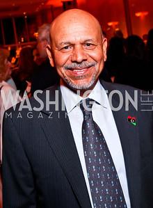 Libya Amb. Ali Aujali. 2012 Vital Voices Global Leadership Awards. Photo by Tony Powell. Kennedy Center. June 6, 2012