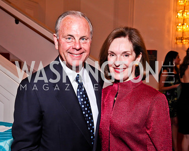 Mack and Donna McLarty. 2012 Vital Voices Global Leadership Awards. Photo by Tony Powell. Kennedy Center. June 6, 2012