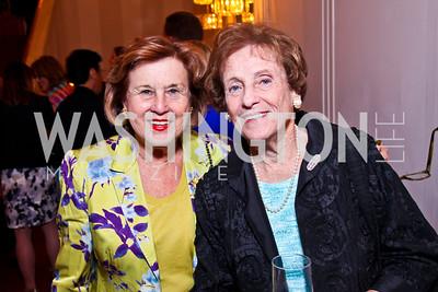 Claudine Bacher, Alison Gansler. 2012 Vital Voices Global Leadership Awards. Photo by Tony Powell. Kennedy Center. June 6, 2012