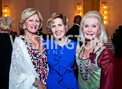 Maggie Shannon, Fmr. Rep. Connie Morella, Dianne Kay. 2012 Vital Voices Global Leadership Awards. Photo by Tony Powell. Kennedy Center. June 6, 2012