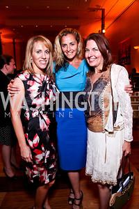 Estee Portnoy, Ami Aronson, Linda Roth. 2012 Vital Voices Global Leadership Awards. Photo by Tony Powell. Kennedy Center. June 6, 2012
